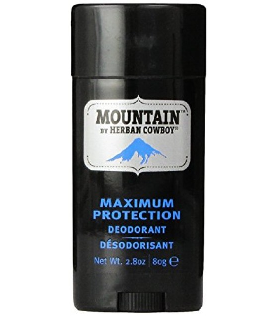 [Herban Cowboy] Mens Deodorant Mountain, Stick