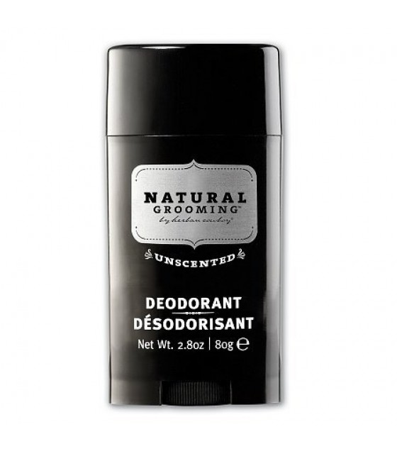 [Herban Cowboy] Mens Deodorant Unscented, Stick