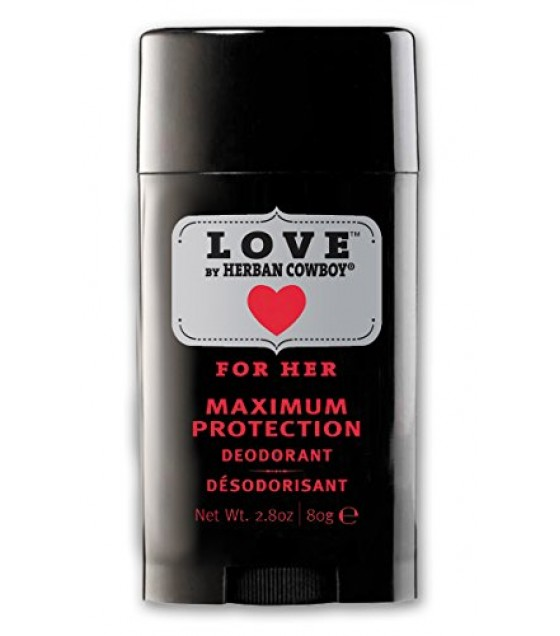 [Herban Cowboy] Womens Deodorant Love Maximum Protection