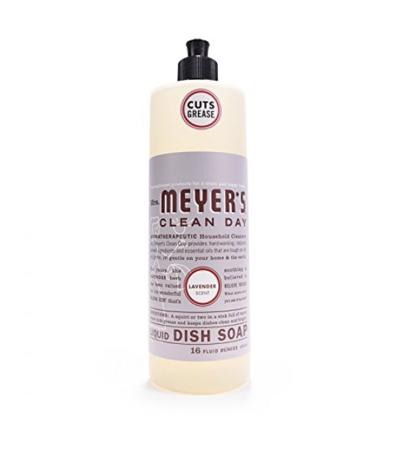 [Mrs Meyers Clean Day] Dishwashing Soaps Liquid, Lavender
