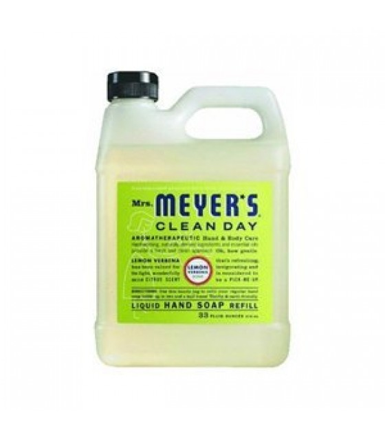 [Mrs Meyers Clean Day] Hand Soaps Lemon Verbena, Refill