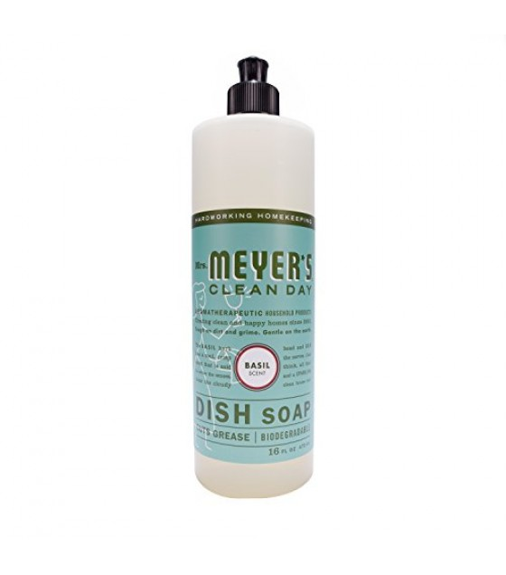 [Mrs Meyers Clean Day] Dishwashing Soaps Liquid, Basil