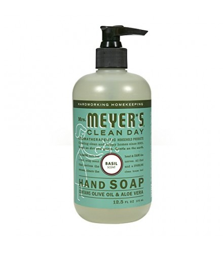 [mrs.meyers Clean Day] Basil Liquid Hand Soap