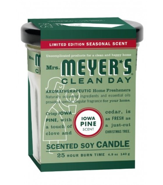 [mrs.meyers Clean Day] Soy Candle,iowa Pine
