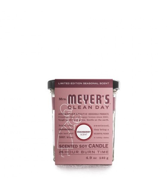 [mrs.meyers Clean Day] Soy Candle,cranberry