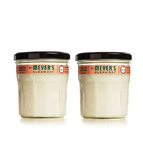 [mrs.meyers Clean Day] Soy Candle,geranium
