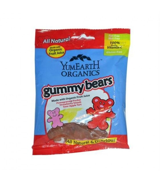 [Yumearth Organics] Gummy Bears Bears  At least 95% Organic