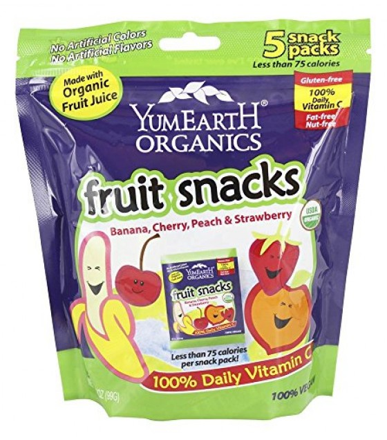 [Yumearth Organics] Fruit Snacks Fruit Snacks  At least 95% Organic