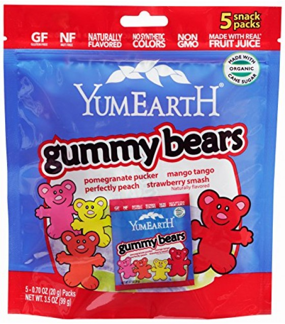 [Yumearth Organics] Gummy Bears Gummy Bears  At least 95% Organic