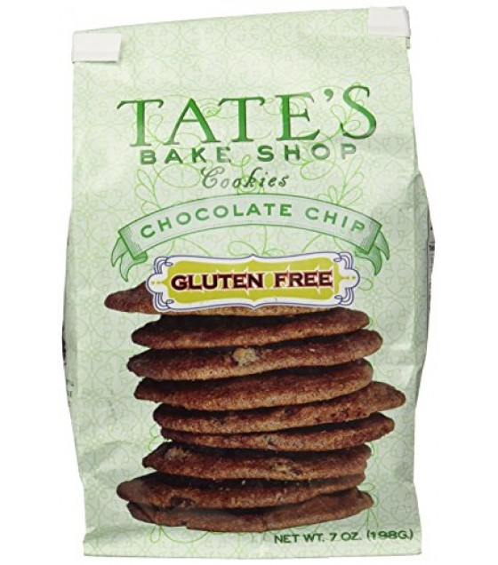 [Tate`S Bake Shop] All Natural Cookies Chocolate Chip, GF