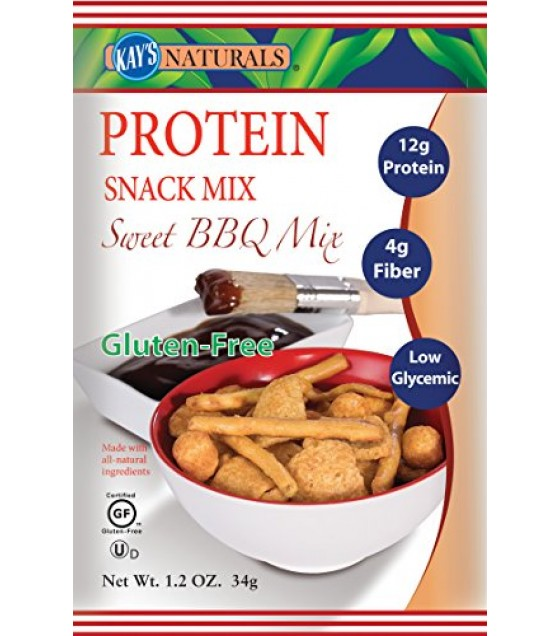 [Kay'S Naturals] SNACK MIX,PROT,SWTBBQ,GF