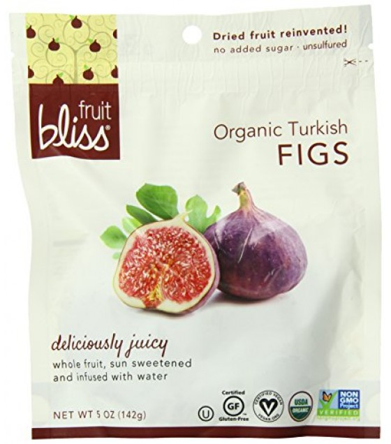 [Fruit Bliss] Soft & Moist Dried Fruit Turkish, Figs  100% Organic