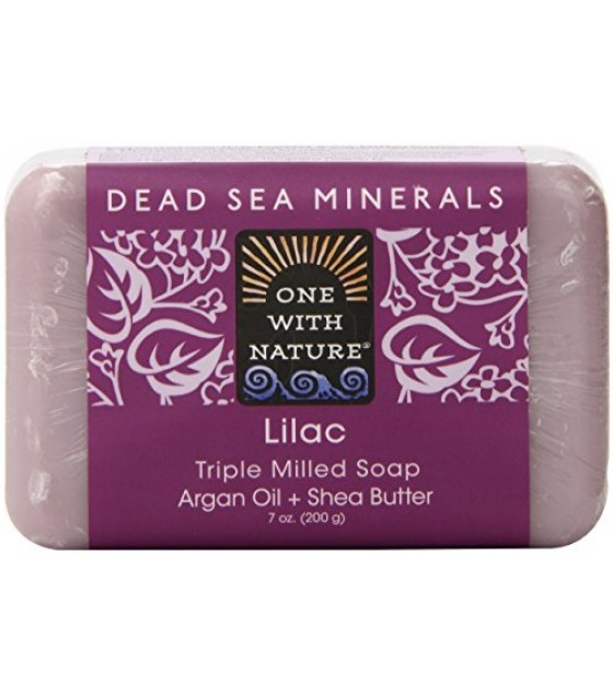 [One With Nature] Bar Soaps Lilac