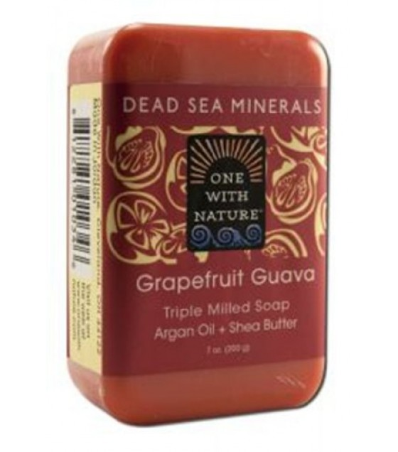 [One With Nature] Bar Soaps Grapefruit Guava