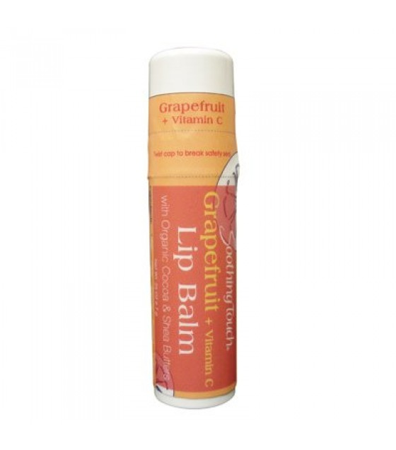 [Soothing Touch] Lip Balms 70% Organic Grapefruit w/Vitamin C  At least 70% Organic