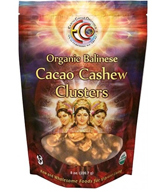 [earth Circle Organics] Cacao Cashew Clusters,og1