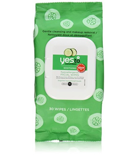 [Yes To]  Cucumber,Hypoal Facial Twlett 30ct