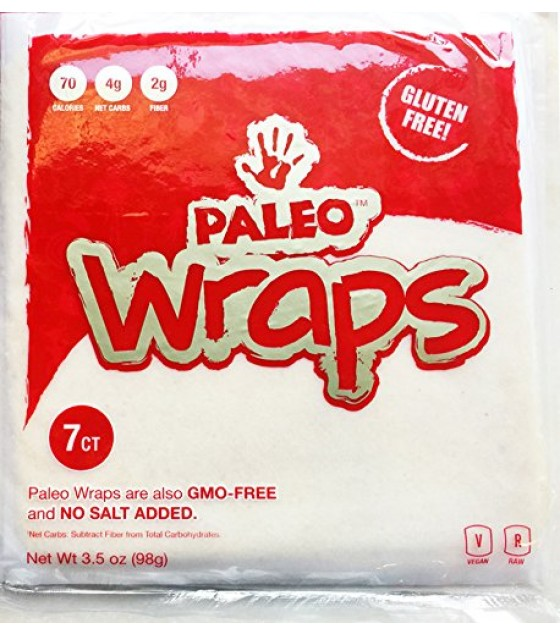[Julian Bakery]  Paleo Wraps, GF