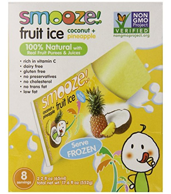 [Smooze] Fruit Ice - Shelf Stable Coconut With Pineapple