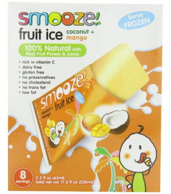 [Smooze] Fruit Ice - Shelf Stable Coconut With Mango