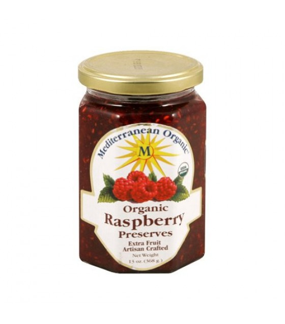 [Mediterranean Organic] Fruit Spreads Raspberry Preserves  At least 95% Organic