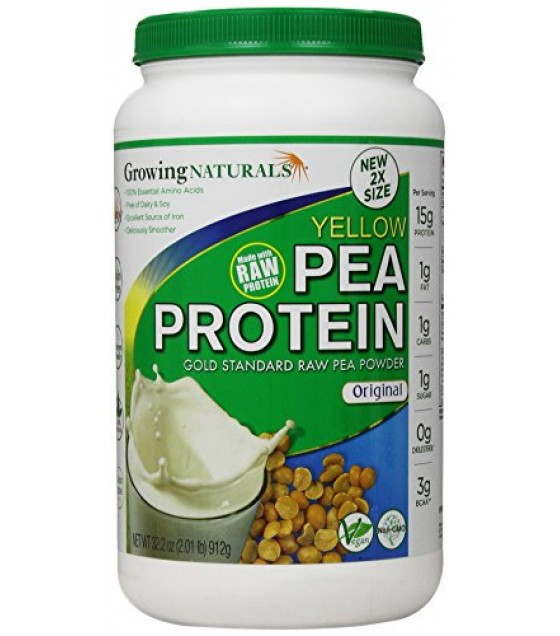 [Growing Naturals] PEA PROT PWD,RAW,ORIGINAL