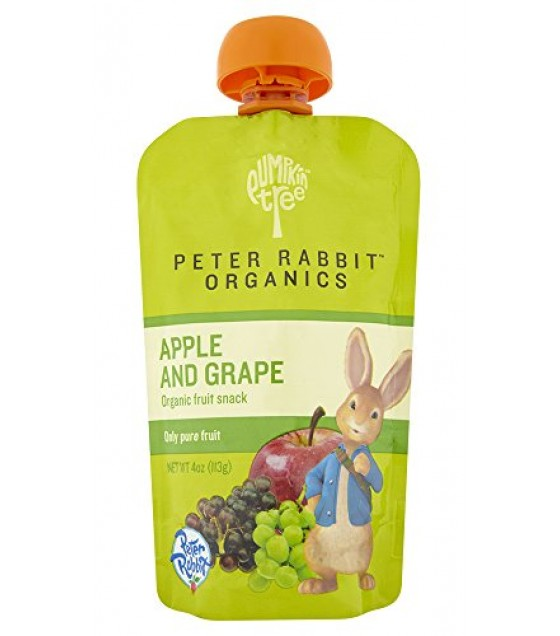 [Peter Rabbit Organics] Fruit Snacks Apple & Grape  At least 95% Organic