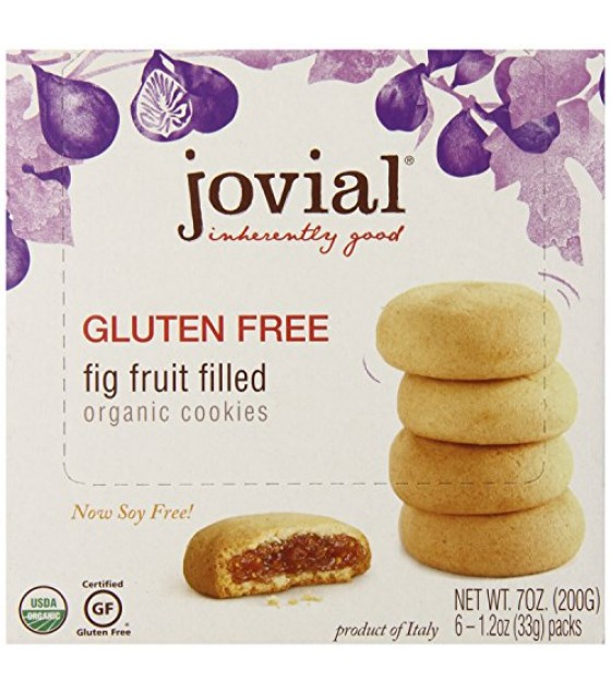 [Jovial] Gluten Free Cookies Fig Fruit  At least 95% Organic