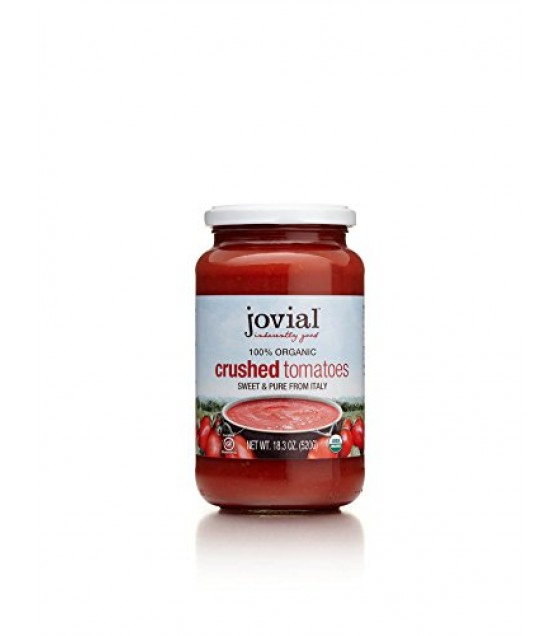 [Jovial] Jarred Vegetables Tomatoes, Crushed  100% Organic