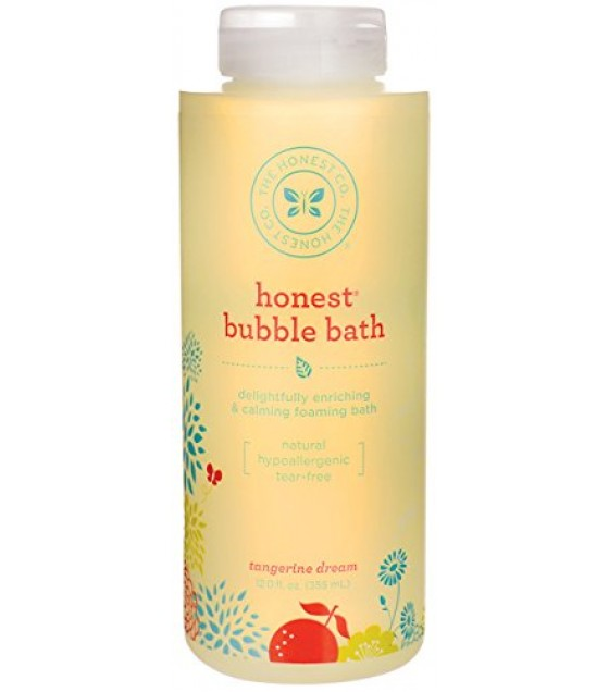 [The Honest Co]  Bubble Bath, Tangerine