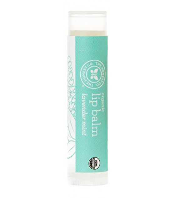 [The Honest Co]  Lip Balm Gravity, Lavender Mint  At least 95% Organic