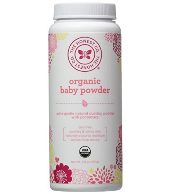 [The Honest Co]  Baby Powder  At least 95% Organic