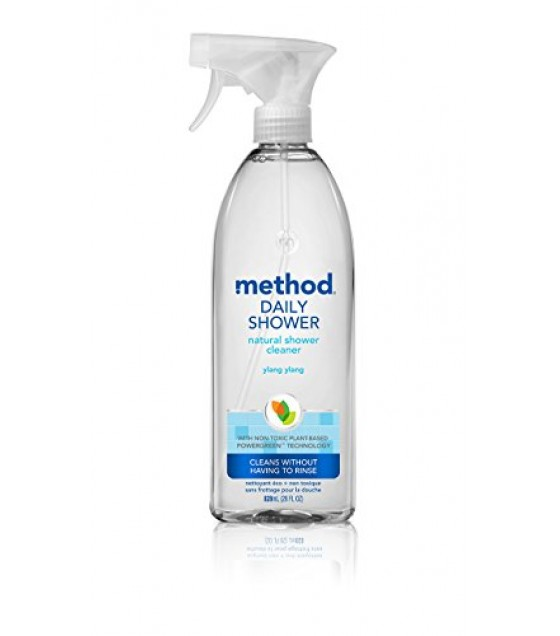 [Method] Bathroom Cleaners Daily Shower, Ylang Ylang, Spray