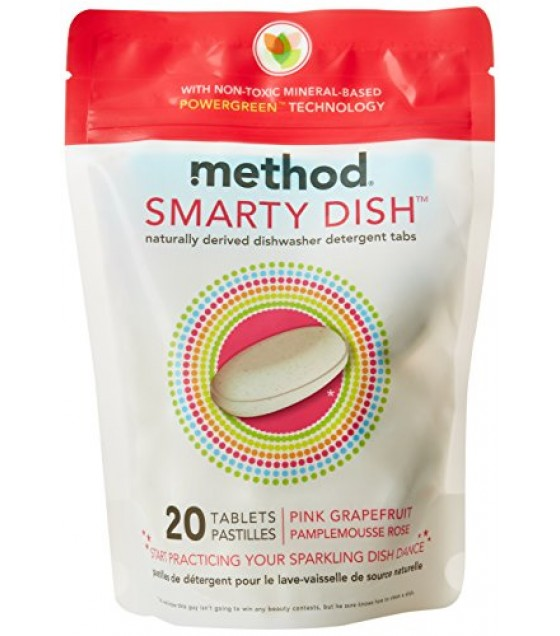 [Method] Dish Soaps Smarty Dish, Pink Grapefruit