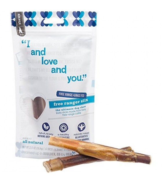 [I And Love And You] Dog Chews Free Ranger, 6