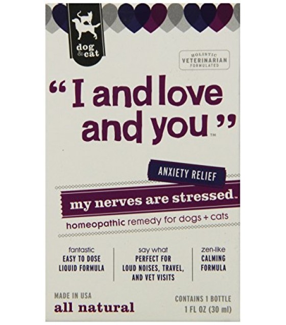 [I And Love And You] Dog & Cat Supplement My Nerves Are Stressed