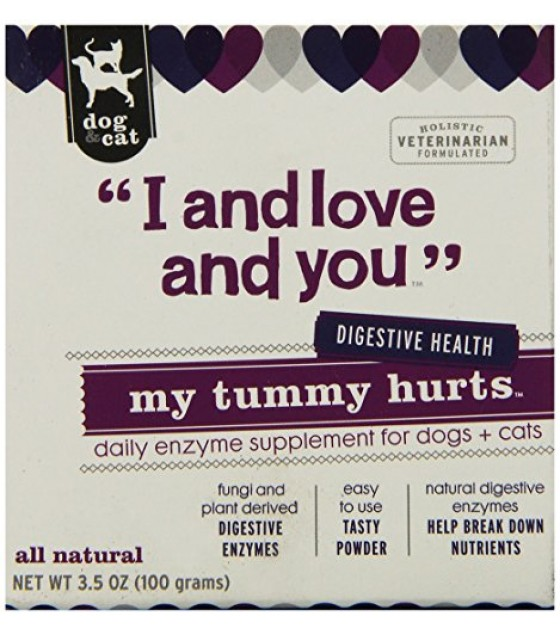 [I And Love And You] Dog & Cat Supplement My Tummy Hurts