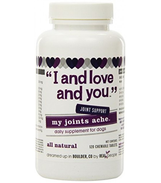 [I And Love And You] Dog Supplement My Joints Ache