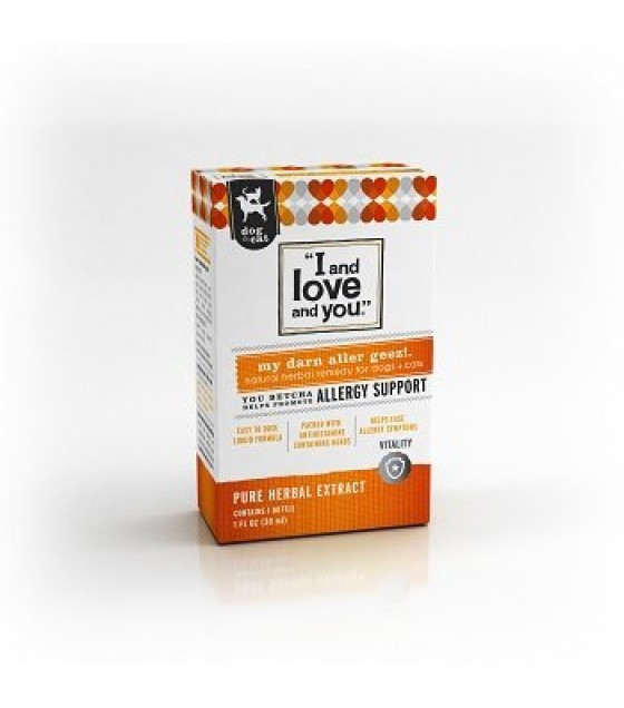 [I And Love And You] Dog & Cat Supplement My Darn Aller Geez!