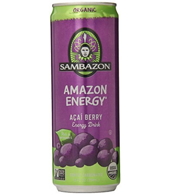 [Sambazon] Energy Drink Amazon  At least 95% Organic