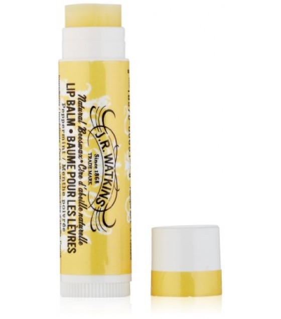 [J R Watkins] Lip Care Natural Beeswax, Peppermint