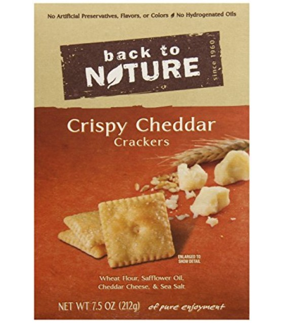 [Back To Nature] Crackers Crsipy Cheddar