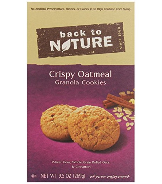 [Back To Nature] Cookies Crispy Oatmeal