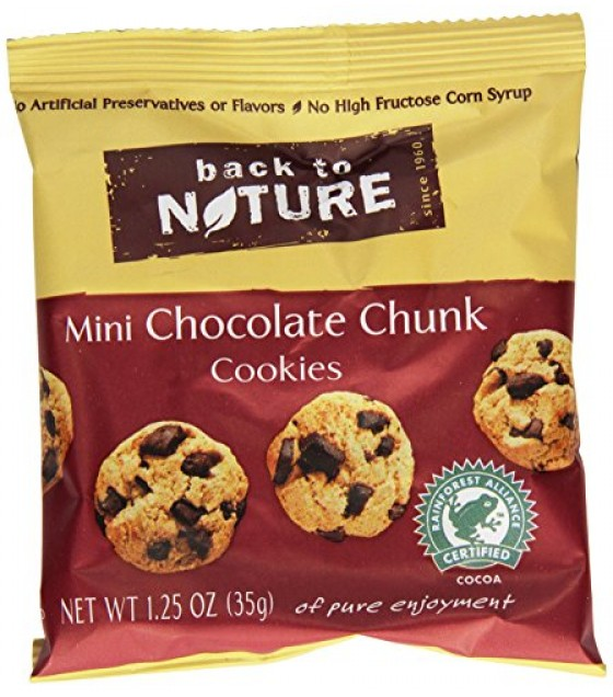 [Back To Nature] Cookies Chocolate Chunk Mini