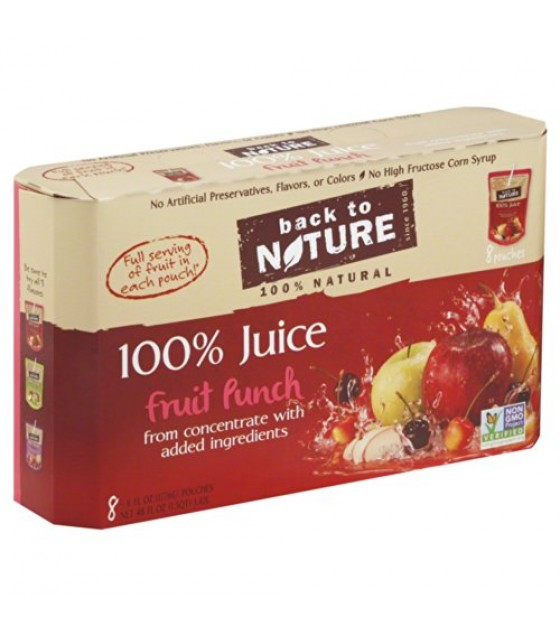 [Back To Nature] 100% Juice Fruit Punch