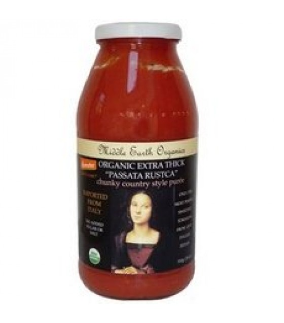 [Middle Earth] Sauces Passata Rustica, Extra Thick  100% Organic