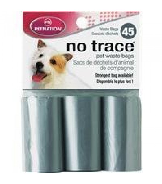 [Petnation] No Trace Waste Disposal Bags 3 Refill Rolls