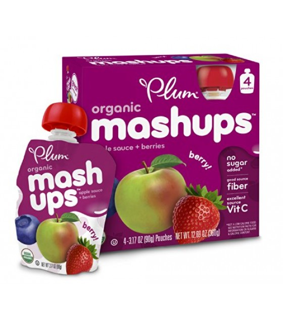 [Plum Kids] Mashups Mixed Berry  At least 95% Organic