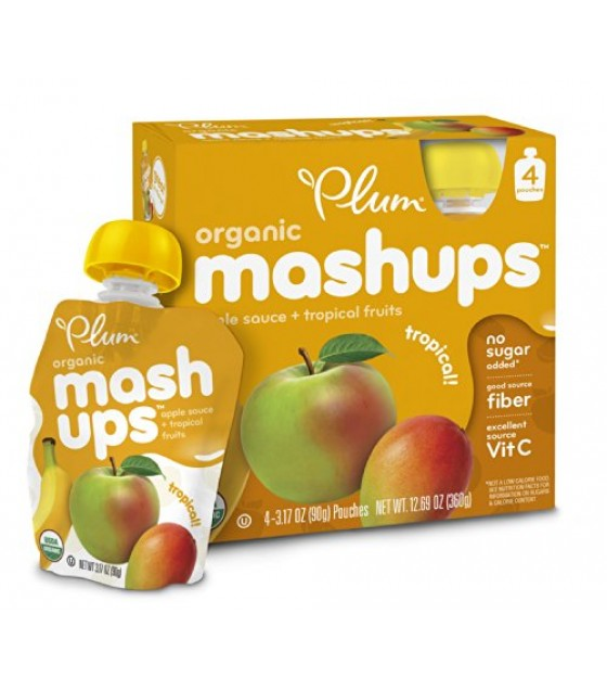 [Plum Kids] Mashups Tropical  At least 95% Organic