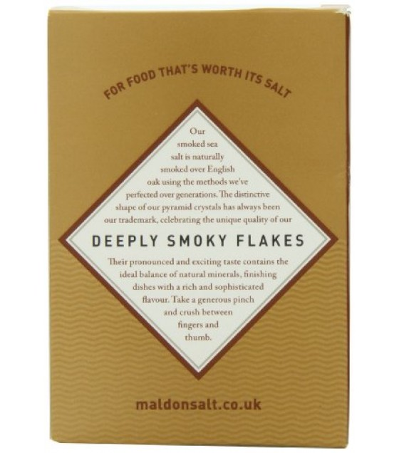 [Maldon Crystal Salt Co]  Flakes, Smoked Sea Salt